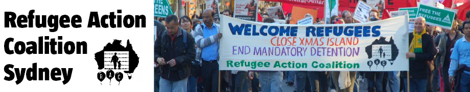Refugee action coalition RAC logo
